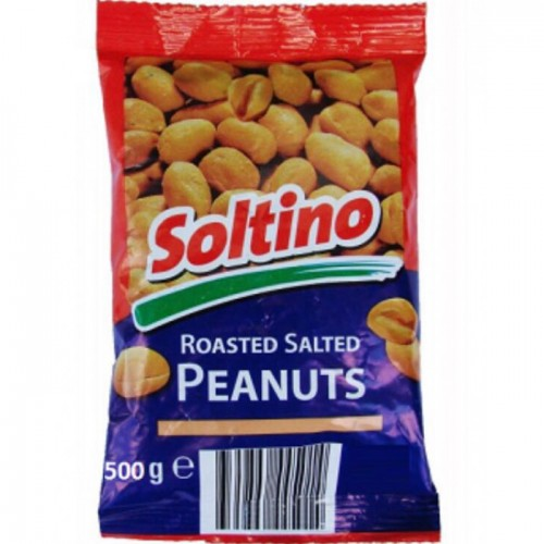 "Горішки ""Peanuts Roasted Salted Soltino"" 500 г"