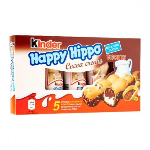 "Бегемотики ""Kinder Happy Hippo Cacao"", 103,5"