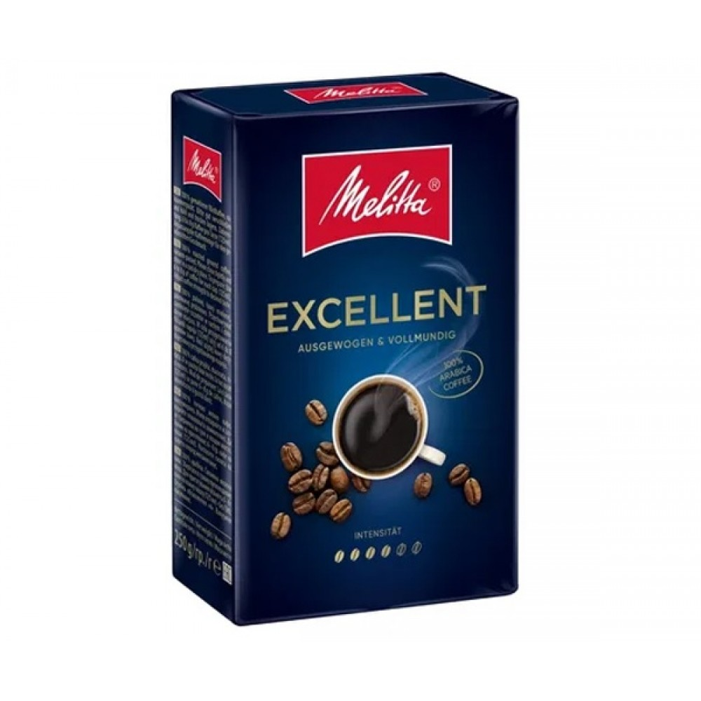 "Кава мелена ""MELITTA Cafe Excellent"" 250г"