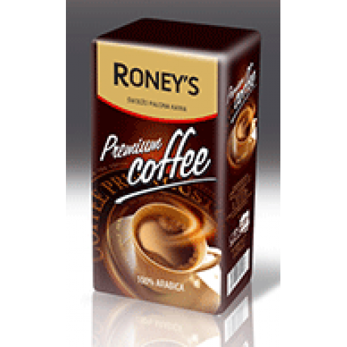 "Кава мелена""Roney's premium coffee"" 250г"