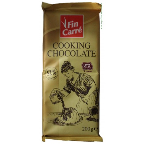 "Шоколад ""Fin Carré Cooking Chocolate"" 200г"